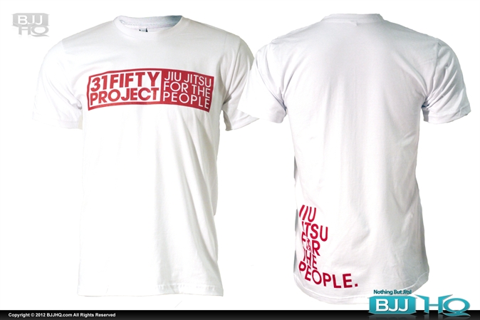 31FIFTY Jiu Jitsu For The People Tee